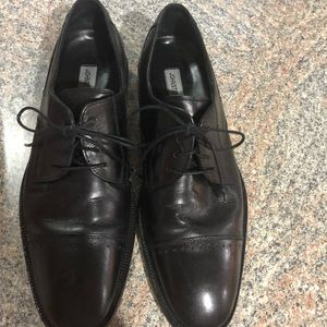 Johnston and Murphy men's oxfords black size 9.5 M